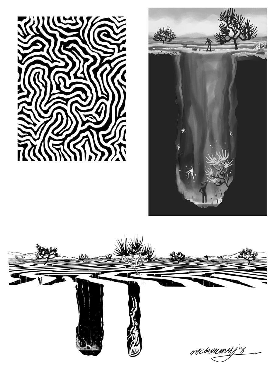 Ben McSweeney, Landscape (Arte conceptual)