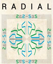 Estilos de Glifos - Radial