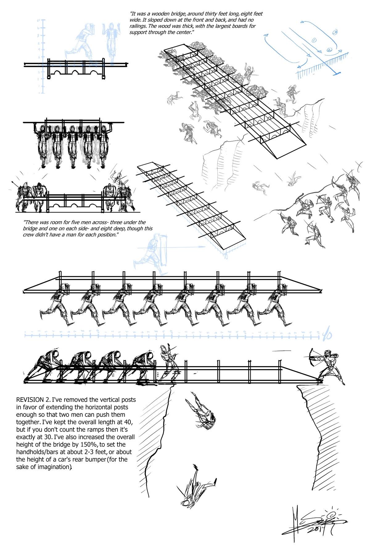 Carga con puente, por Ben McSweeney (Arte conceptual)